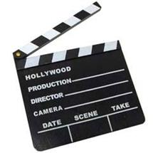 8 INCH HOLLYWOOD CLAP BOARD