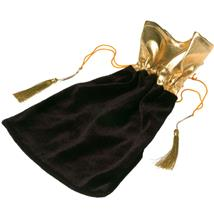 BLACK FAVOR POUCH