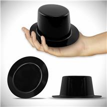 MINI BLACK TOP HAT - PLASTIC
