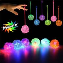 LED JELLY SPIKE YOYO BALLS