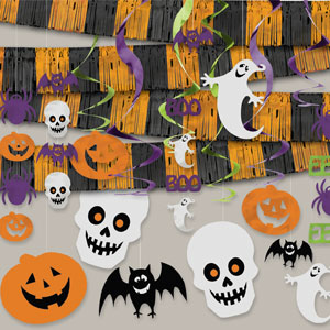 Halloween Giant Room Decorating Kit- 21pc