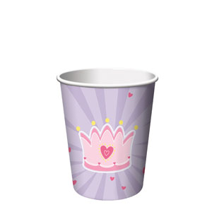 Fairytale Princess 9 oz. Cups- 8ct