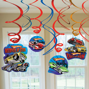 Hot Wheels Swirls- 24ct