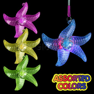 LED Starfish Necklace