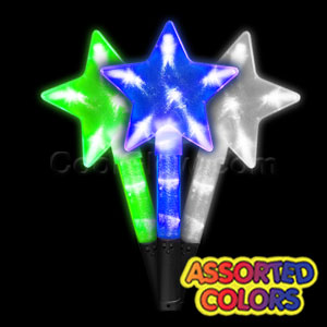 LED Super Star Wand - Assorted