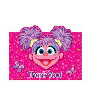 Abby Cadabby Thank You Cards- 16ct
