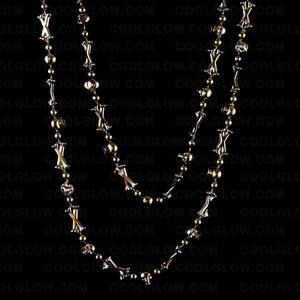 skull-bones-42-inch-beads-antique-gold
