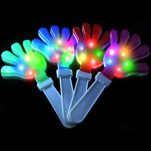 LED Hand Clappers - Assorted - 21st Birthday Party Stuff