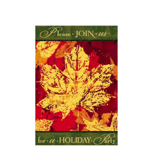 Autumn Invitations- 8ct