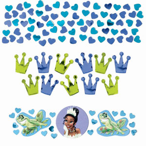 Disney Princess and The Frog Confetti- Assorted