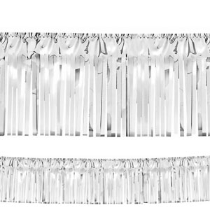 Silver Fringe Garland- 20ft