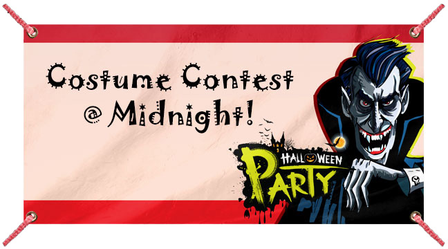 Dracula Party Red - Custom Banner