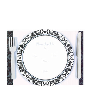 Dinner Jumbo Invitation- 8ct