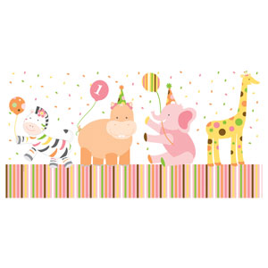 Sweet at One Girl Tablecover - 108in
