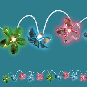 Flower Light Set- 11ft