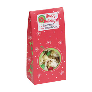 Christmas Print Treat Box with Window