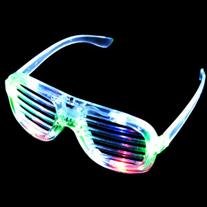 LED Shutter Shades - Multicolor