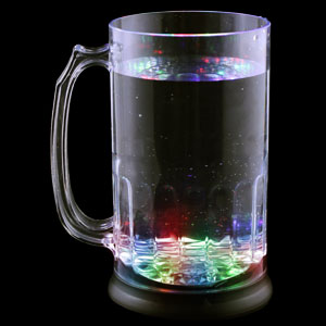 Fun Central I773 LED Light Up Beer Mug - 28 oz.