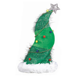 Christmas Tree Hat- 18 Inch