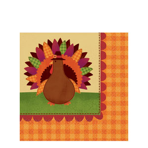 Give Thanks Luncheon Napkins- 36ct