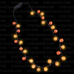 LED Pumpkins Necklace - 34 Inch
