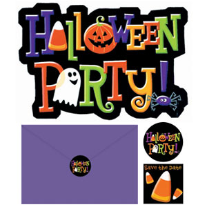 Halloween Invitation Pack- 20ct