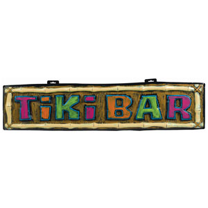 Tiki Bar Vac Form Sign