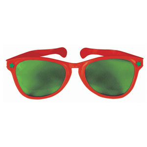 Christmas Giant Sunglasses- 11 Inch