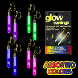 Glow Pendant Earrings - Assorted
