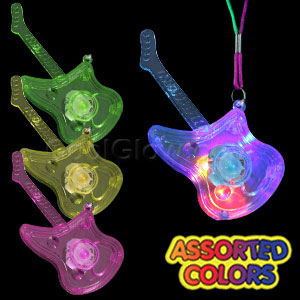 LED Guitar Necklace