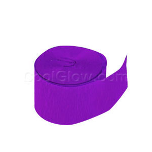 Purple Crepe Paper- 81ft