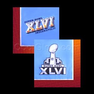 Super Bowl XLVI Beverage Napkins- I