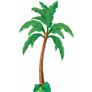 Palm Tree Large Cutout