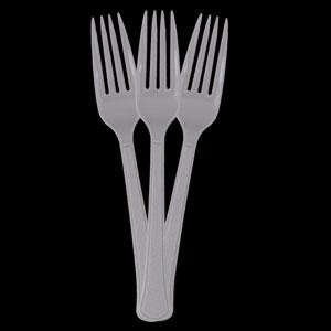 Shimmering Silver Forks- 50ct