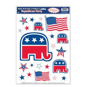 Republican Peel n Place - 17in