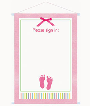 baby girl sign in sheet