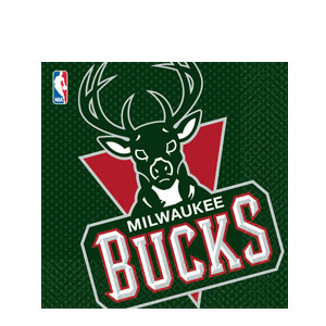 Milwaukee Bucks Luncheon Napkins