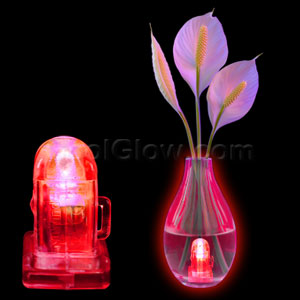 LED Waterproof Lites- Red