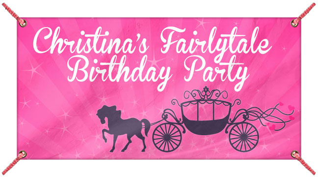 Horse and Carriage - Custom Banner