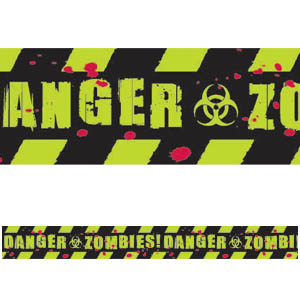 Zombie Caution Tape- 100ft