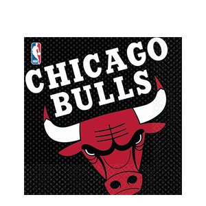 Chicago Bulls Luncheon Napkins