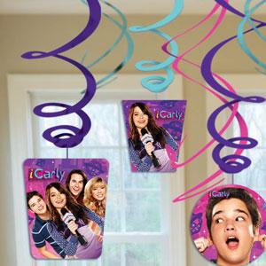 iCarly Swirls- 12ct