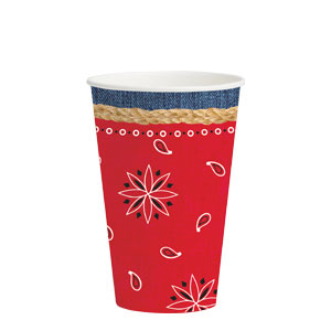 Bandanarama 12 oz. Cups- 8ct