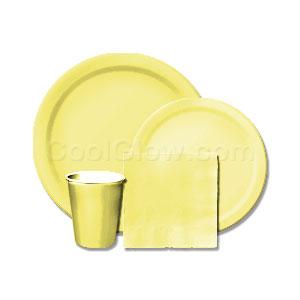 mimosa-yellow-tableware-kit