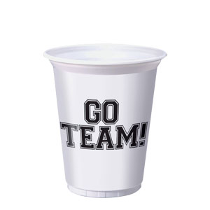 Go Team 16 oz. Cups