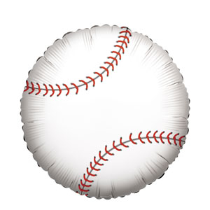 Baseball Balloon- 18in