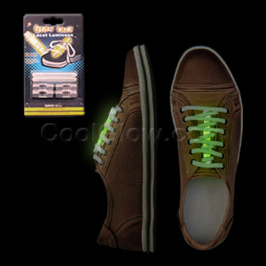 Glow Shoe Laces - Green
