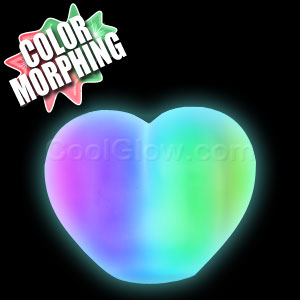 LED Color-Morphing Heart Mood Light