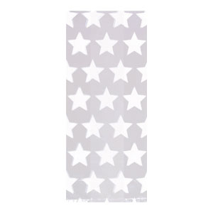 Star White Party Bag- Large 25ct