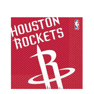 Houston Rockets Luncheon Napkins